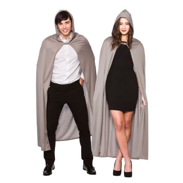 Adult Cape with Hood- Grey